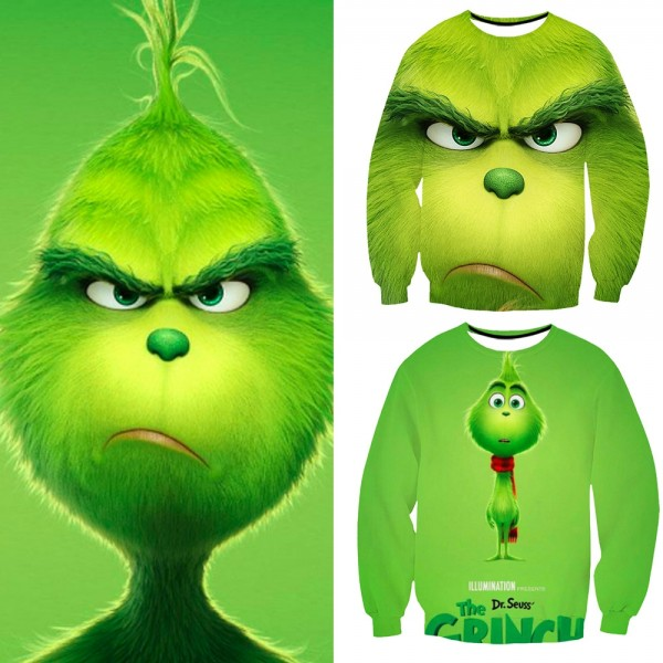 How The Grinch Stole Christmas Grinch 3D Sweatshirt
