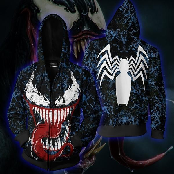 Spiderman Venom Vs. Carnage Hoodie Jacket