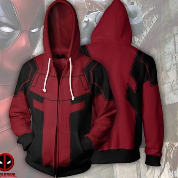 Deadpool 2 Hoodie Jacket Zip Up
