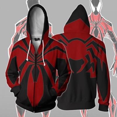 2ce4cbb9f Spiderman Hoodie - Miles Morales Redesign Spider-Man 3D Zip Up Hoodies  Jacket Coat