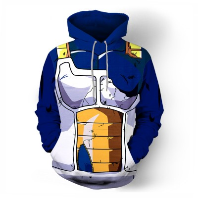 836699b689bb Dragon Balls Vegeta Men s 3D Hoodie Sweatshirt
