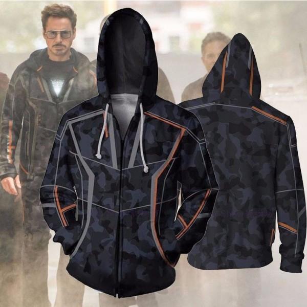 a4ed6447 Tony Stark Avengers Infinity War Jacket Hoodies - Hoodieshow.com